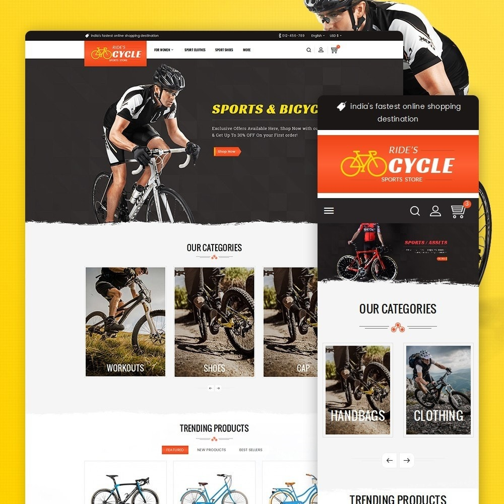 theme - Sport, Aktivitäten & Reise - Sports Bicycle - 1