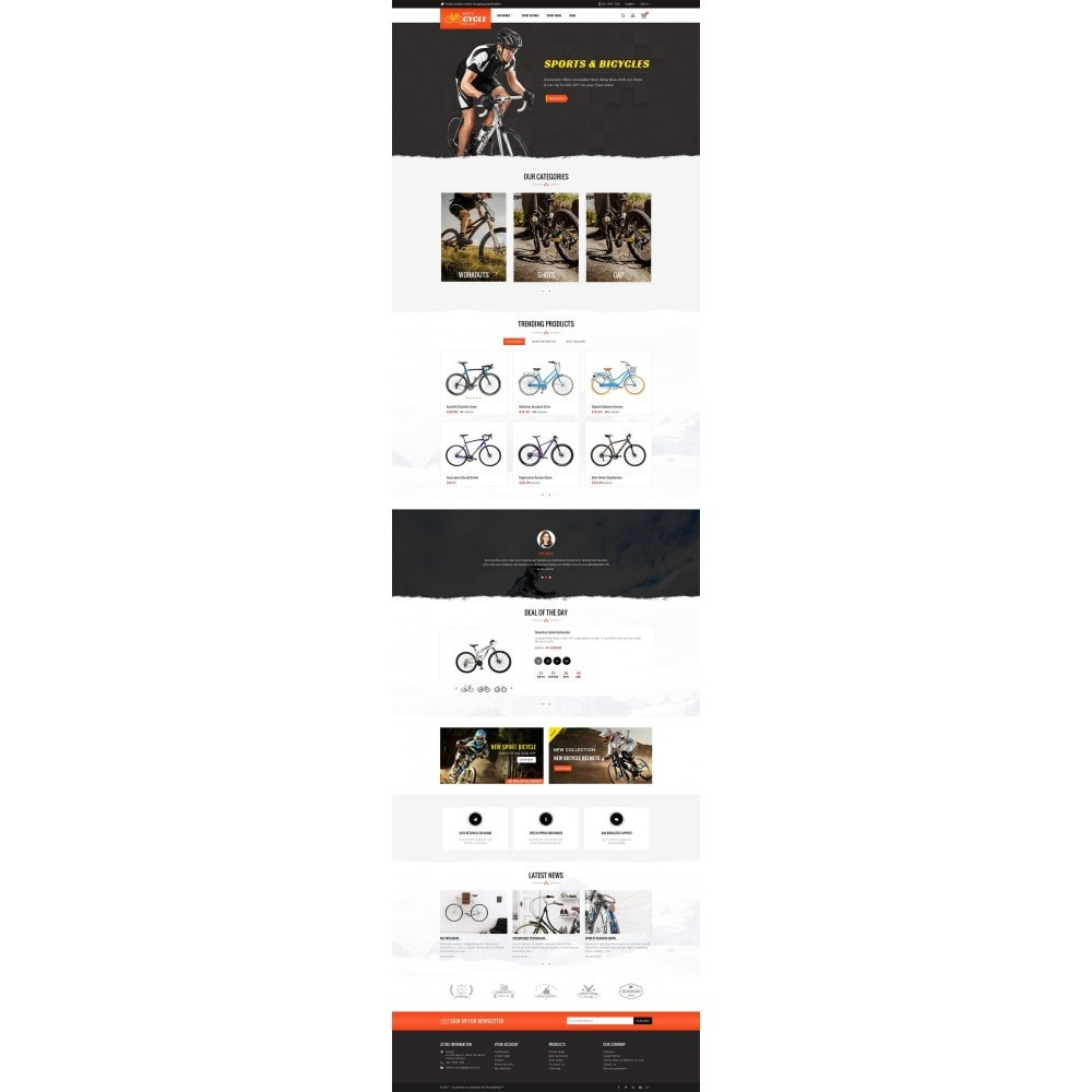 theme - Sports, Activities & Travel - Sports Bicycle - 2