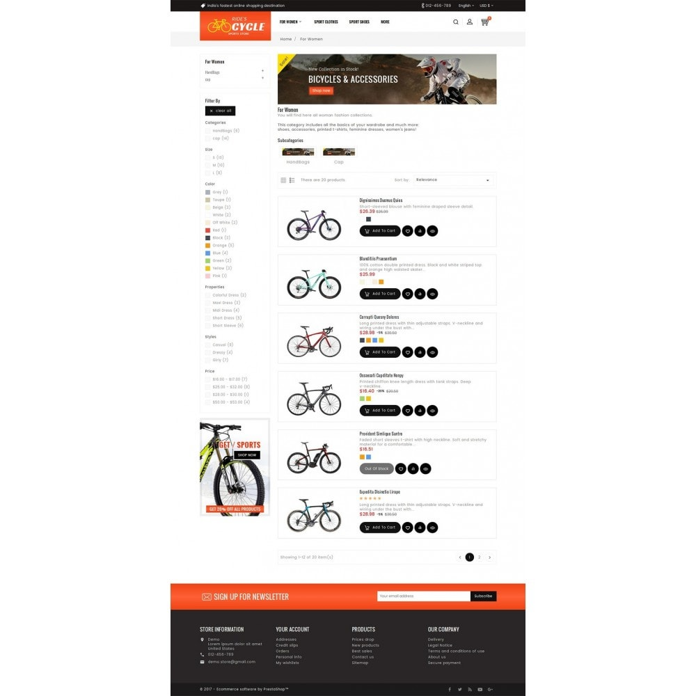 theme - Sports, Activities & Travel - Sports Bicycle - 4