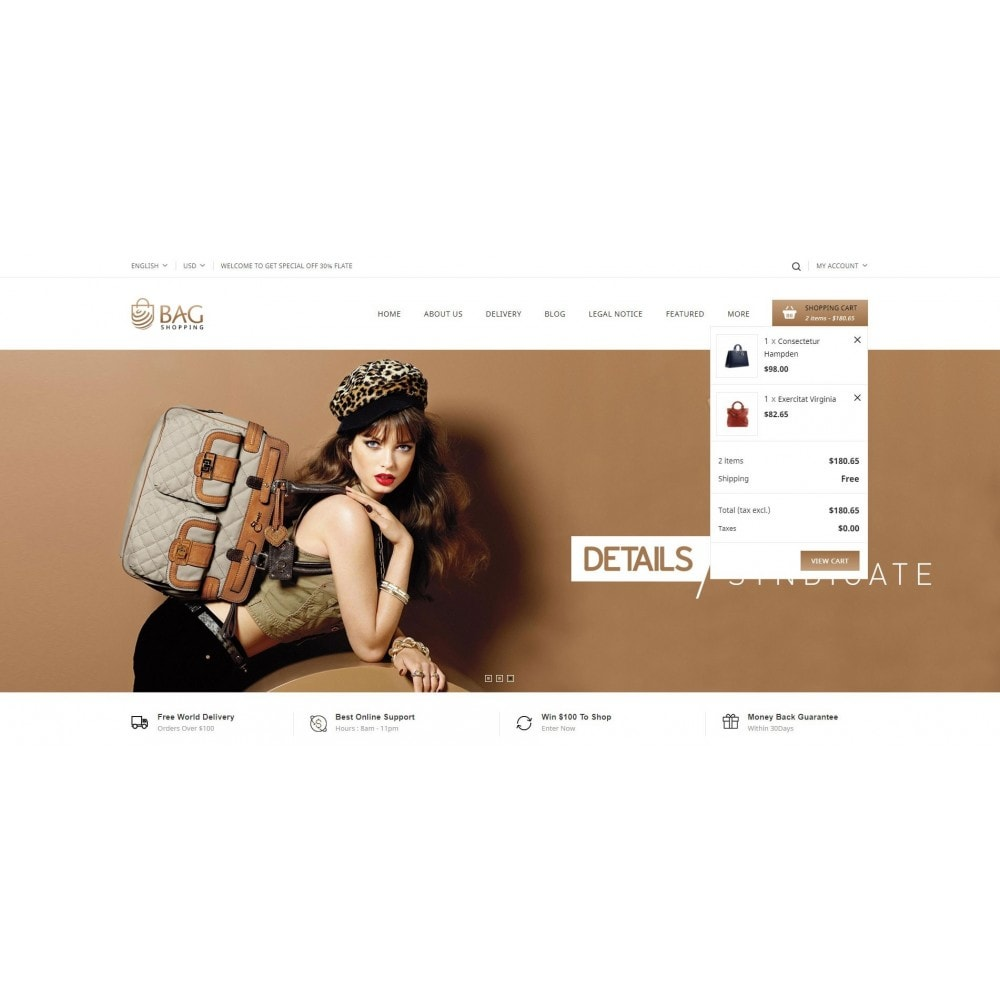 theme - Moda & Obuwie - Bag Shop - 6