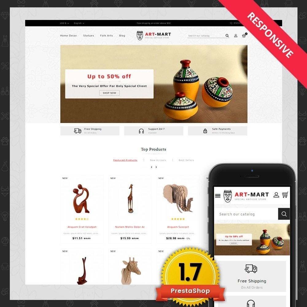 theme - Arte & Cultura - Art Mart - Online Store - 1