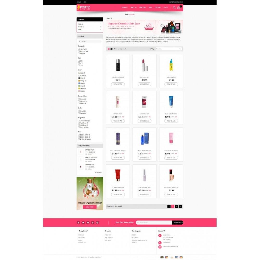 theme - Gesundheit & Schönheit - Portz - Cosmetic Store - 3