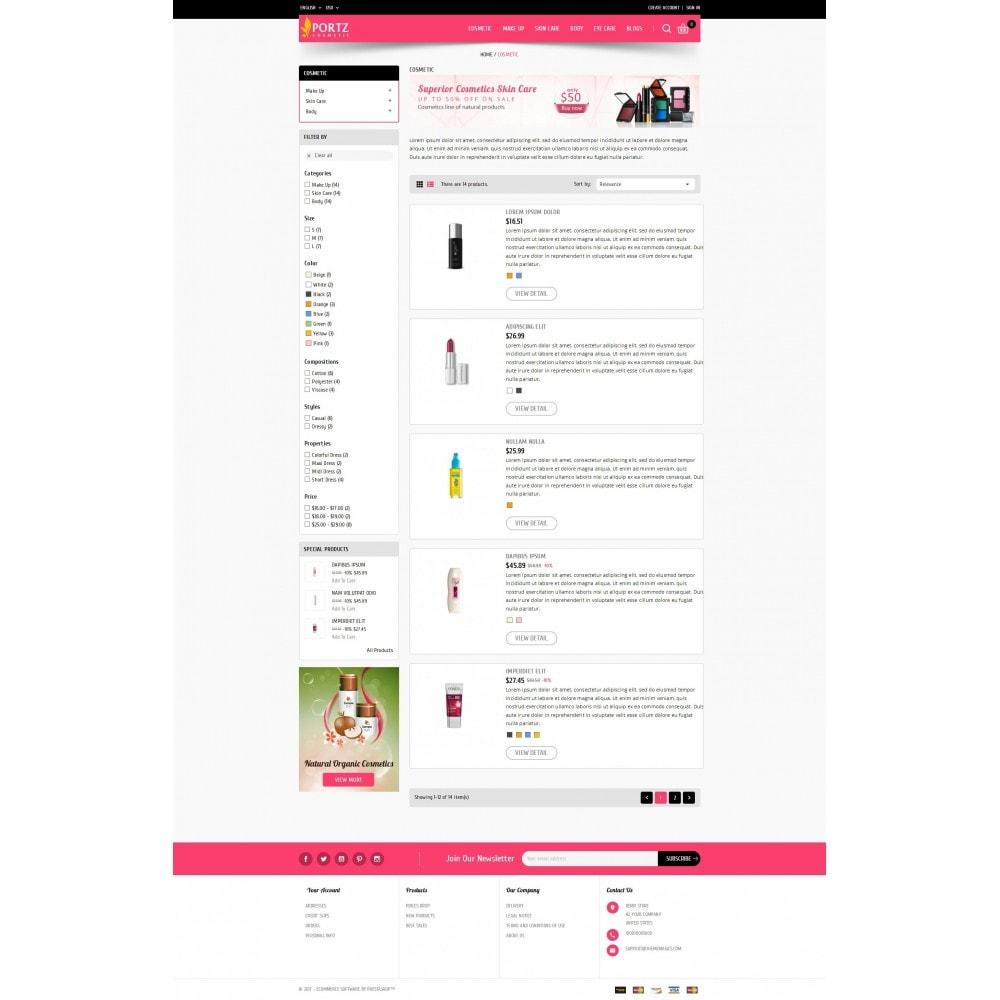 theme - Salute & Bellezza - Portz - Cosmetic Store - 4