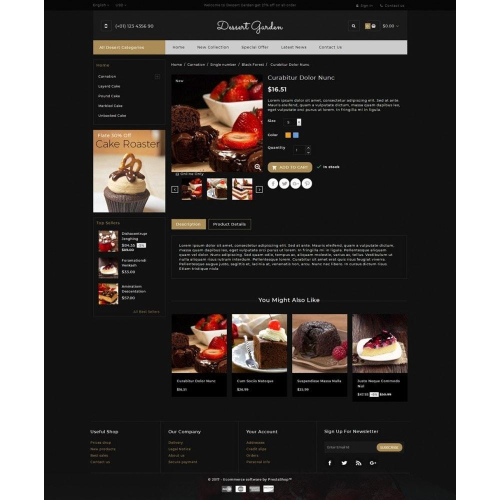 theme - Lebensmittel & Restaurants - Dessert Garden - Bakery Store - 5