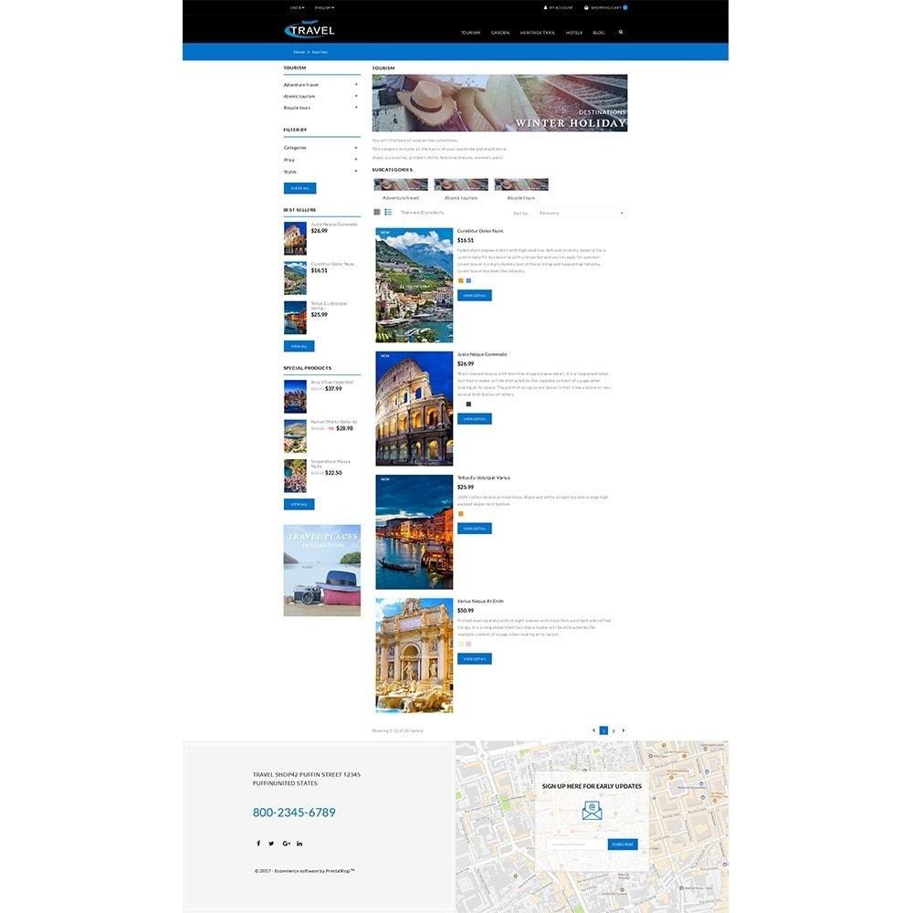 theme - Desporto, Actividades & Viagens - Travel Shop - 5
