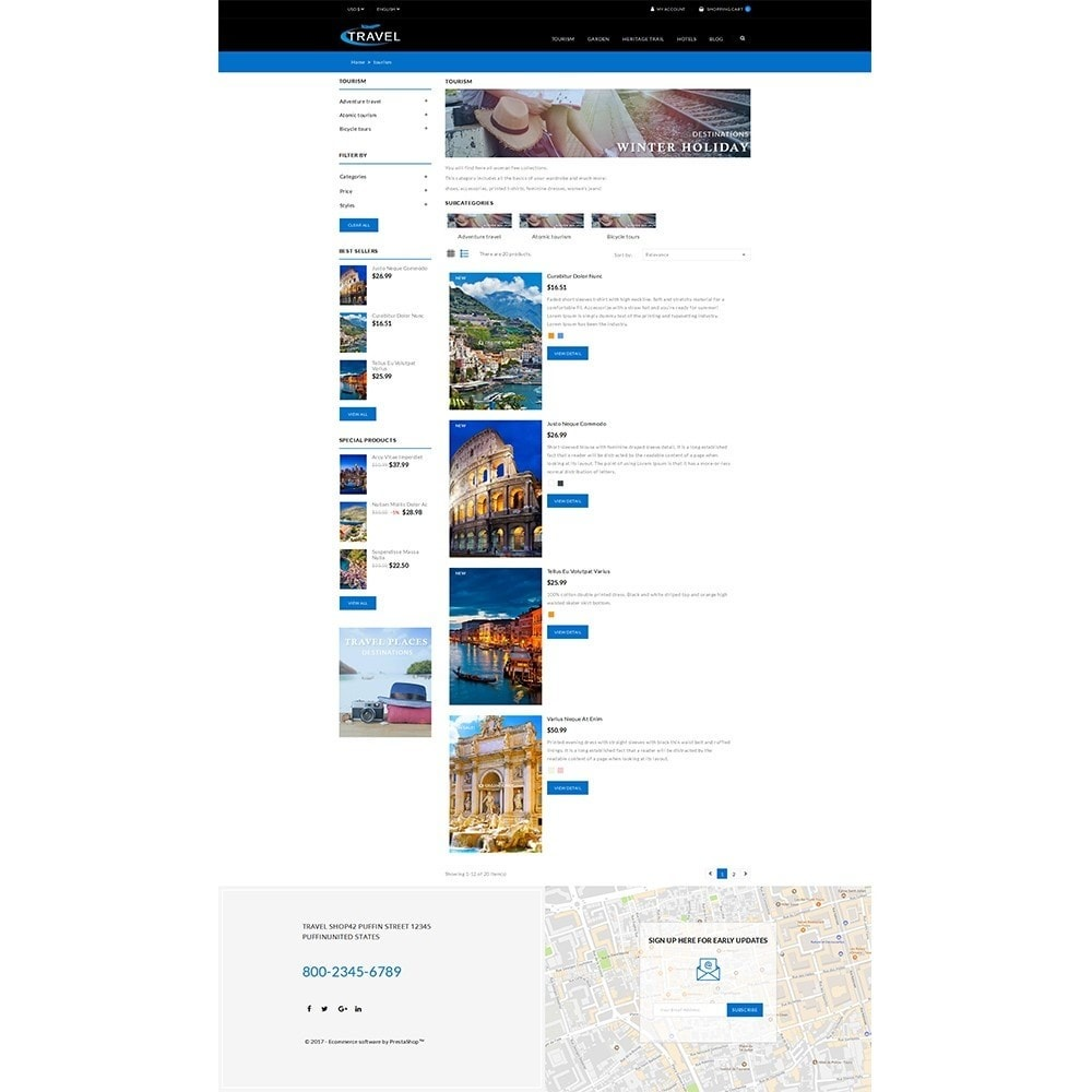 theme - Sports, Activities & Travel - Travel Shop - 5