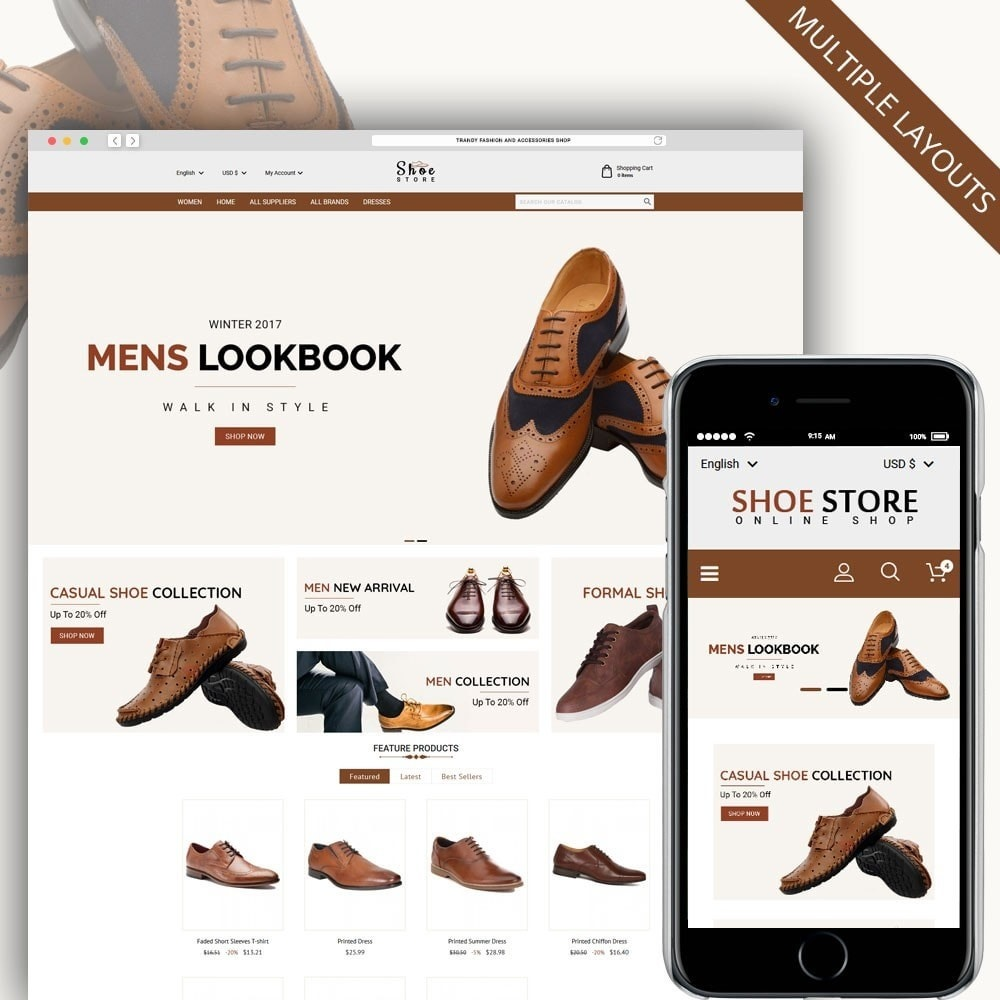 theme - Moda & Calzature - Shoe Store - 1