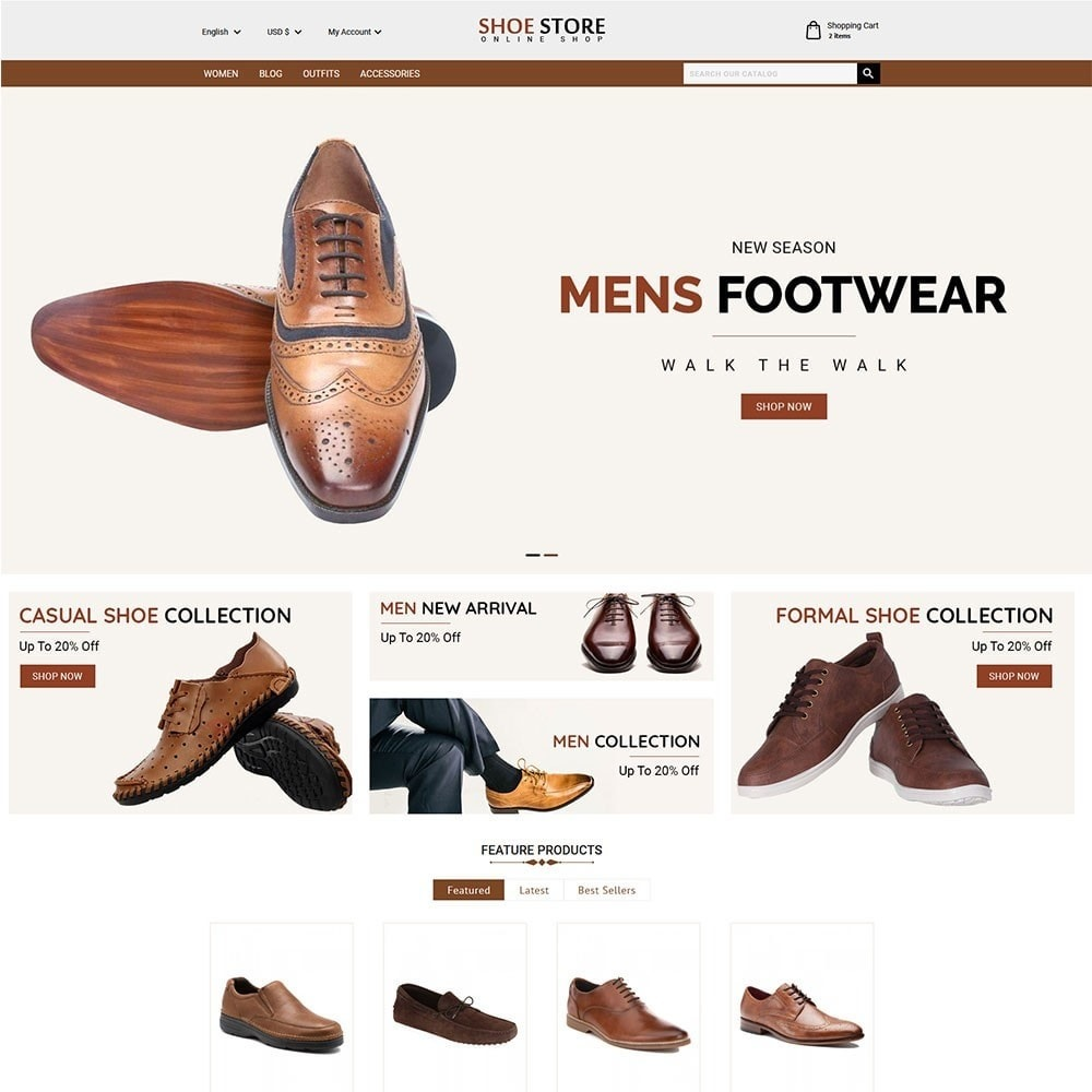 theme - Moda & Calzature - Shoe Store - 2
