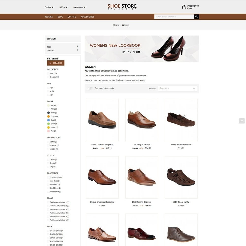 theme - Moda & Calzature - Shoe Store - 4