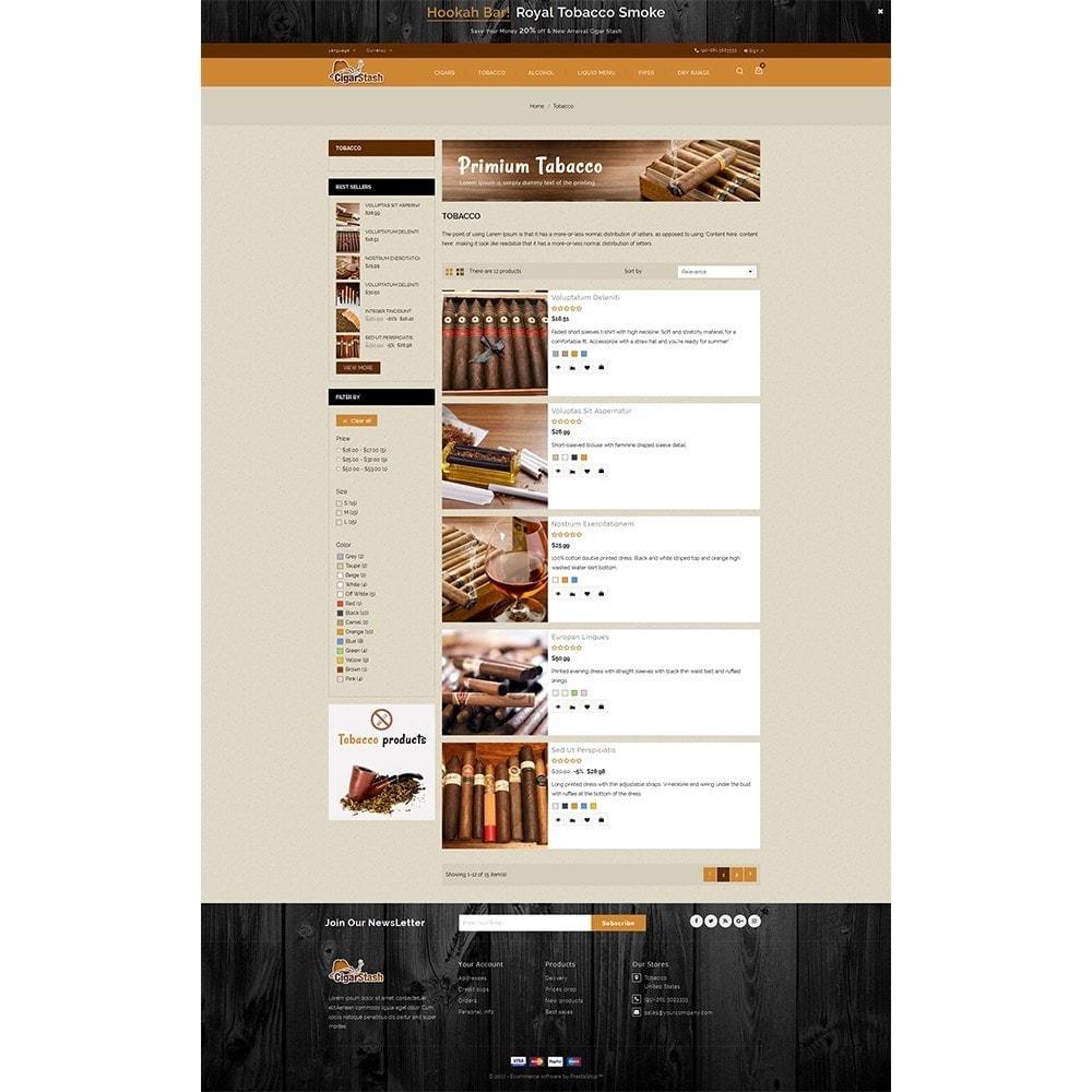 theme - Напитки и с сигареты - CigarStash Store - 4