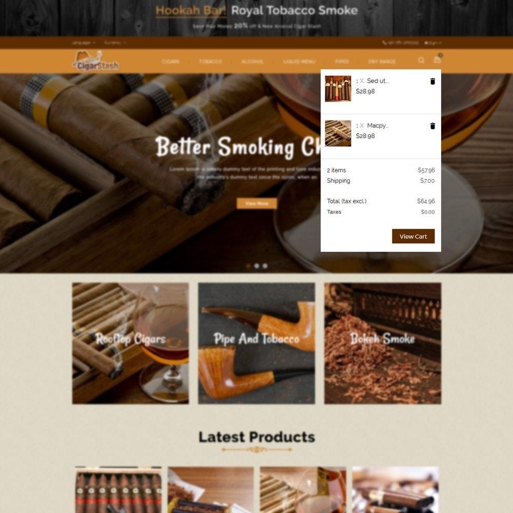 theme - Напитки и с сигареты - CigarStash Store - 8