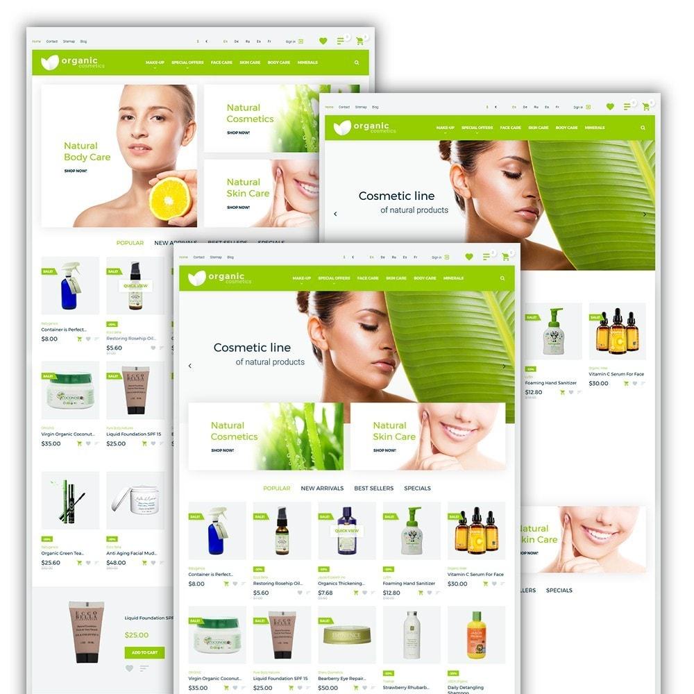 theme - Santé & Beauté - Organic cosmetics - 2