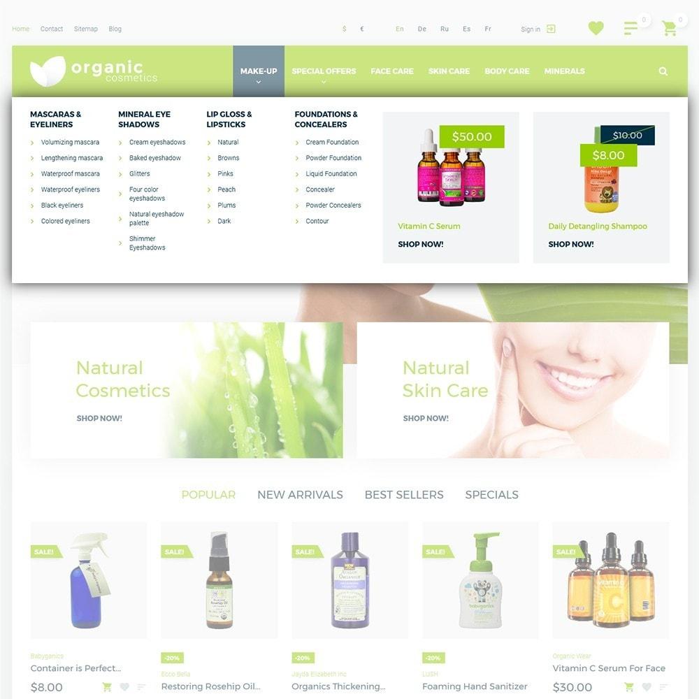 theme - Santé & Beauté - Organic cosmetics - 4