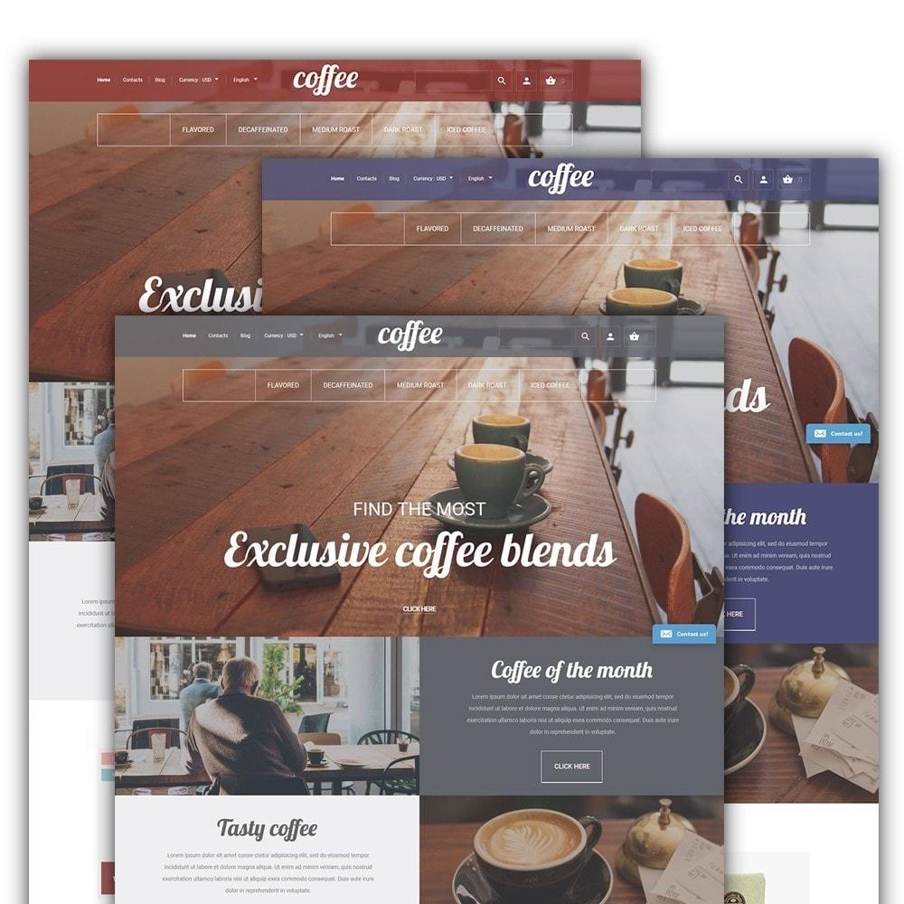theme - Eten & Restaurant - Coffee - Coffee Shop Template - 2
