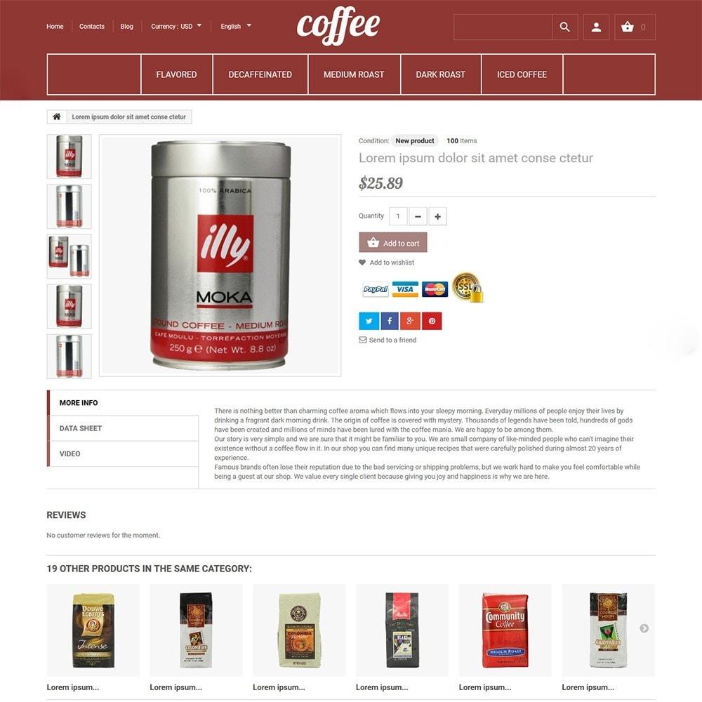 theme - Alimentos & Restaurantes - Coffee - Coffee Shop Template - 3