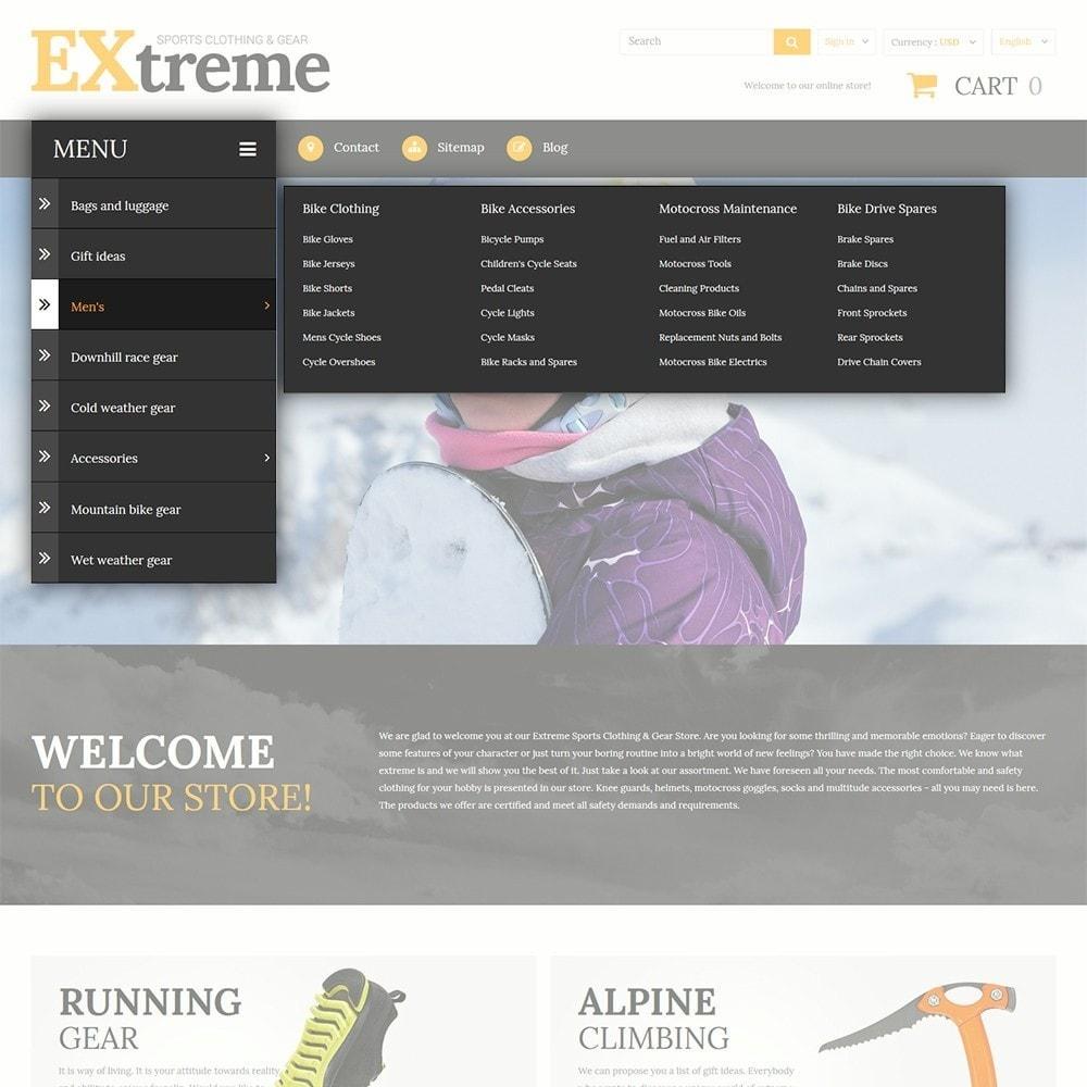 theme - Deportes, Actividades y Viajes - Extreme Sports Clothing - 4