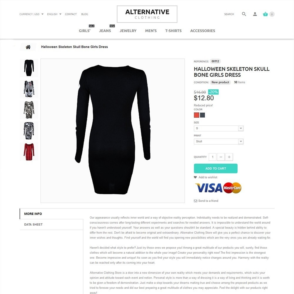 theme - Moda y Calzado - Alternative Closing - 4