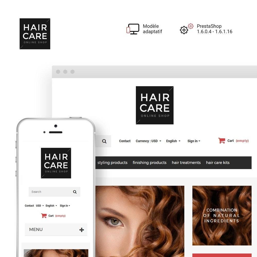 theme - Santé & Beauté - Hair Care - Brillance de cheveux thème - 1
