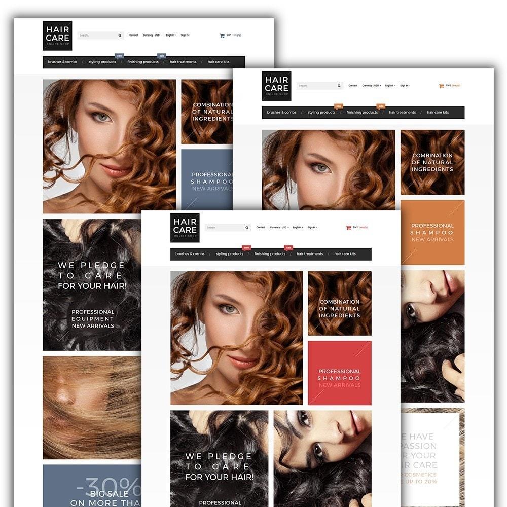 theme - Salud y Belleza - Hair Care - para Sitio de Peluquerías - 2
