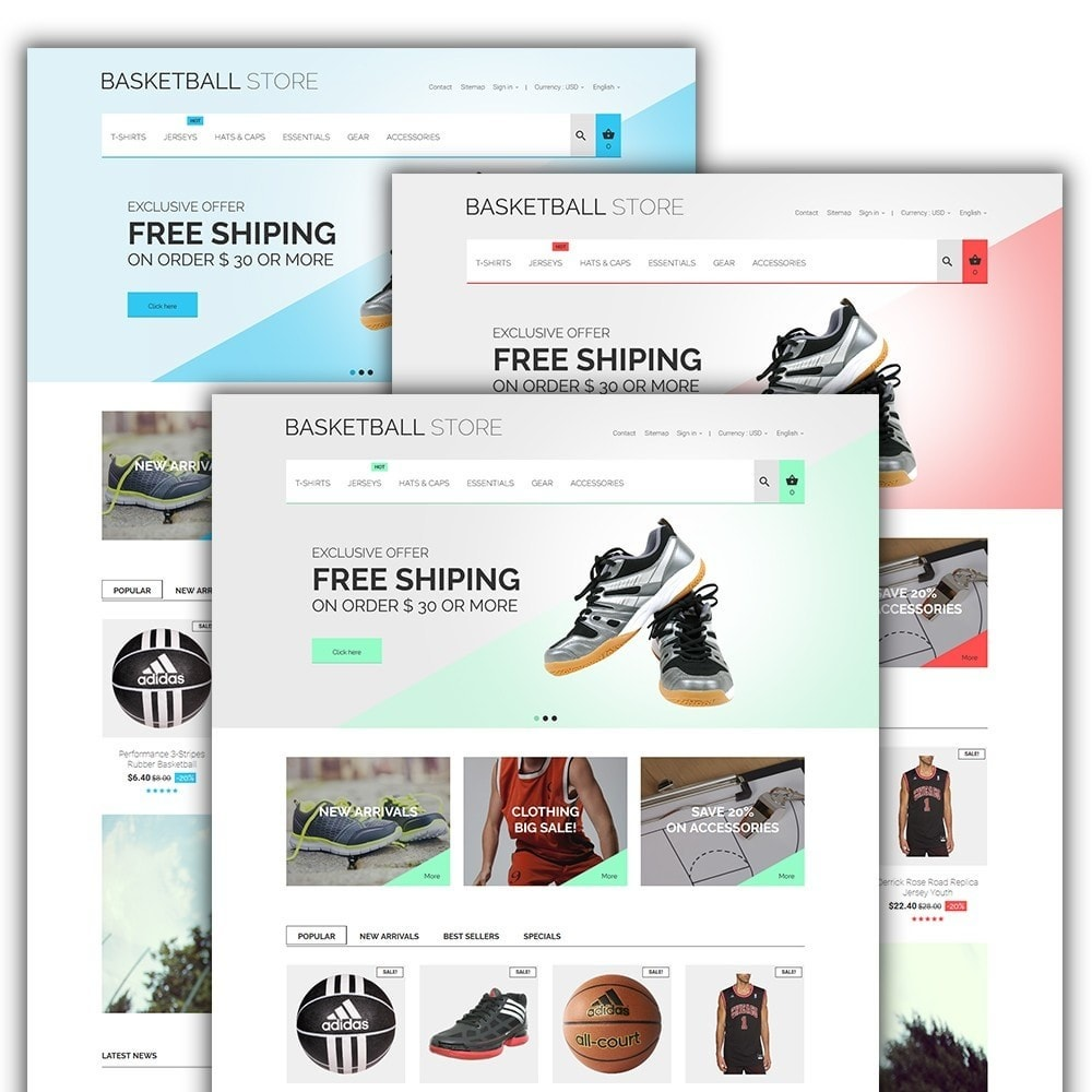 theme - Sport, Loisirs & Voyage - Basketball Store - 2