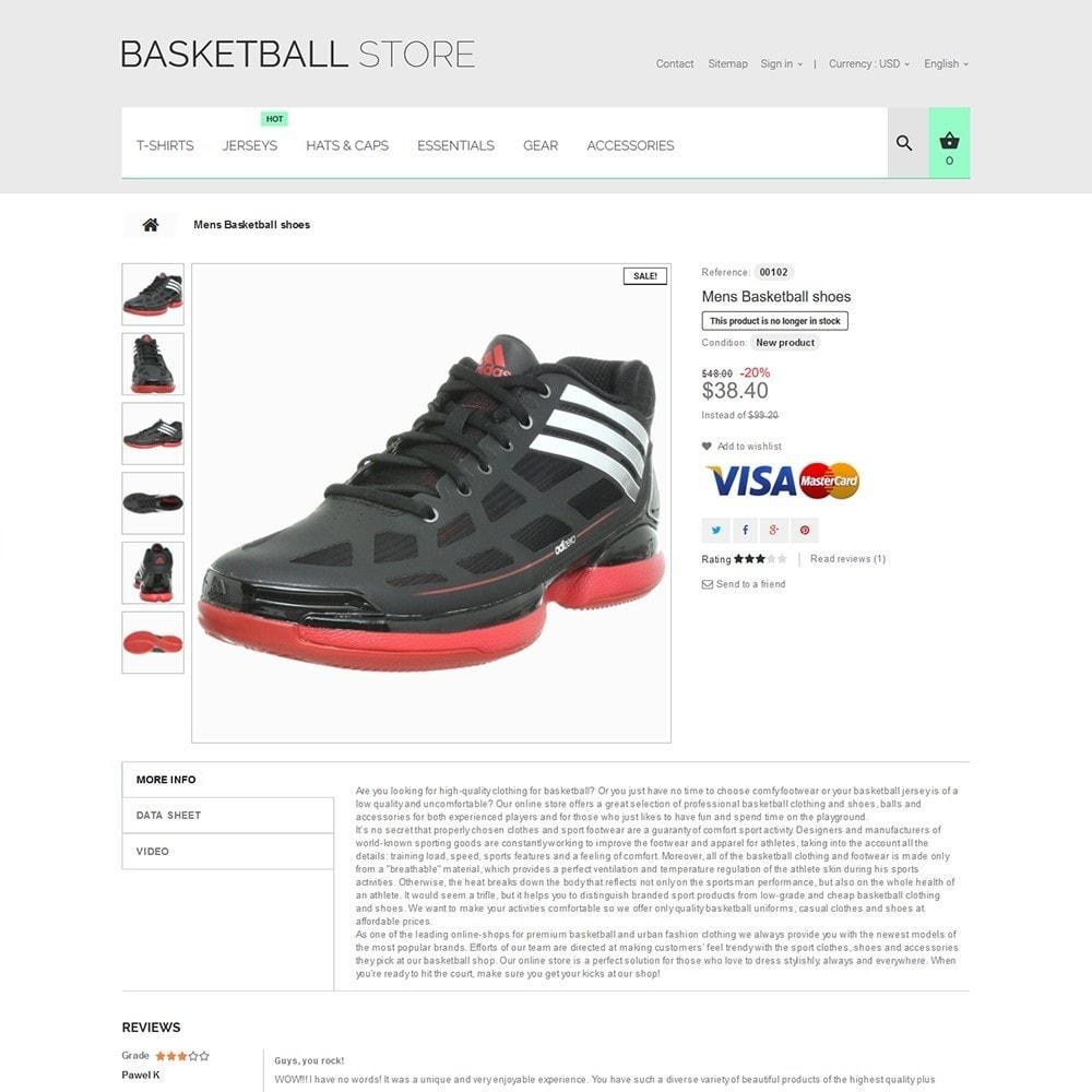 theme - Deportes, Actividades y Viajes - Basketball Store - 3
