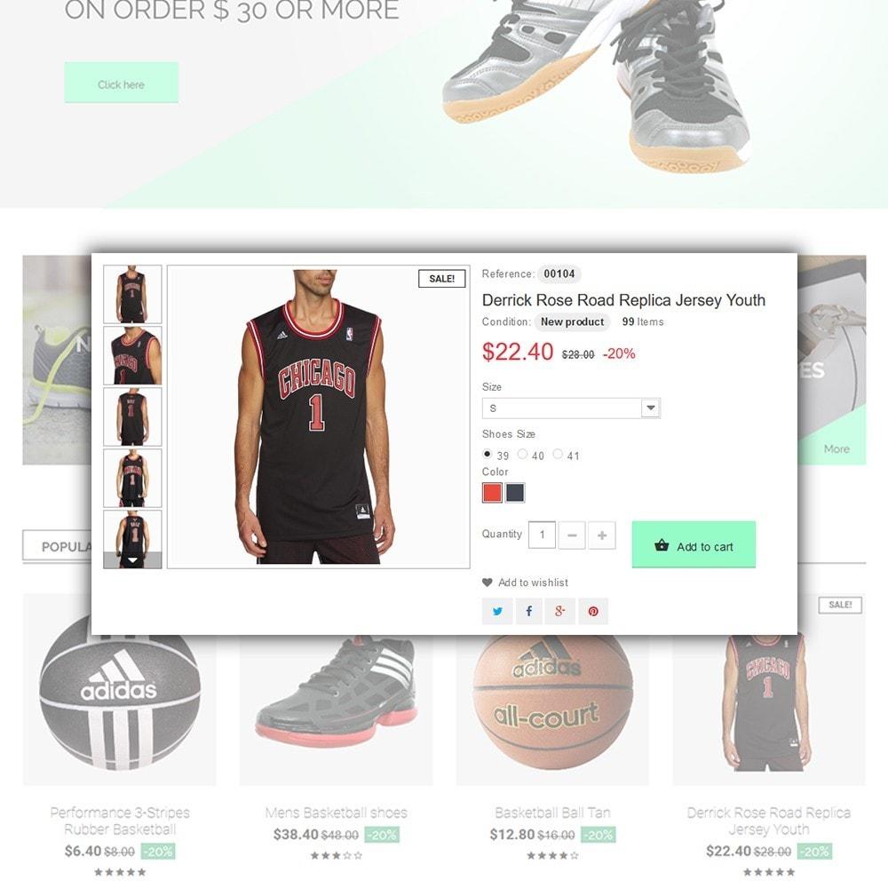 theme - Deportes, Actividades y Viajes - Basketball Store - 5