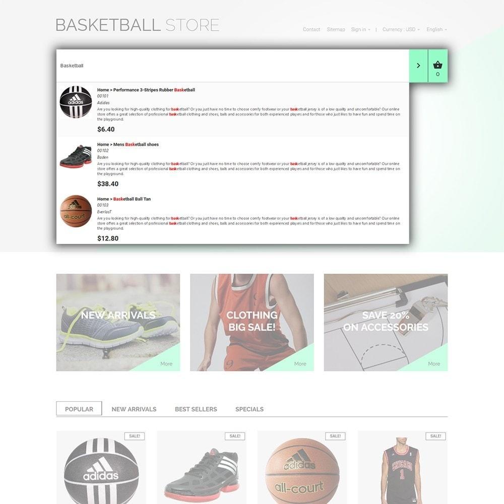 theme - Deportes, Actividades y Viajes - Basketball Store - 6