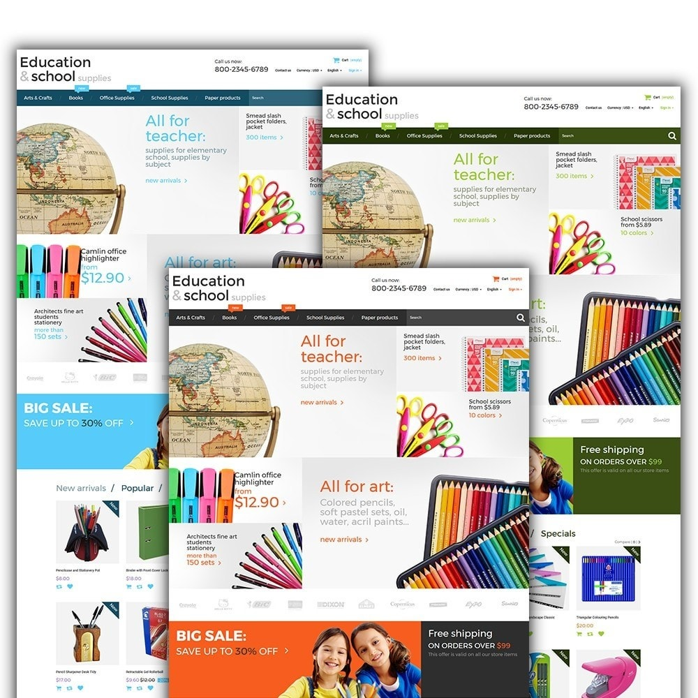 theme - Maison & Jardin - Education  School Supplies - 2