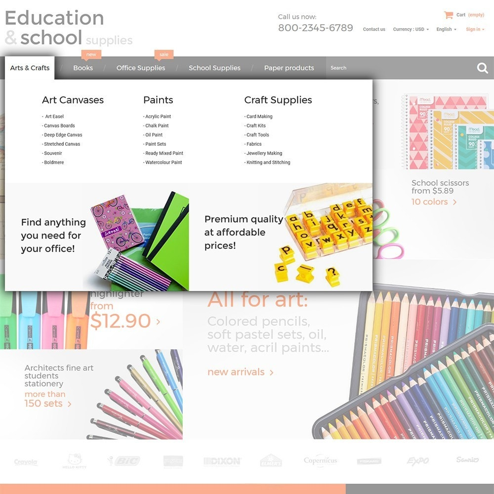theme - Maison & Jardin - Education  School Supplies - 4