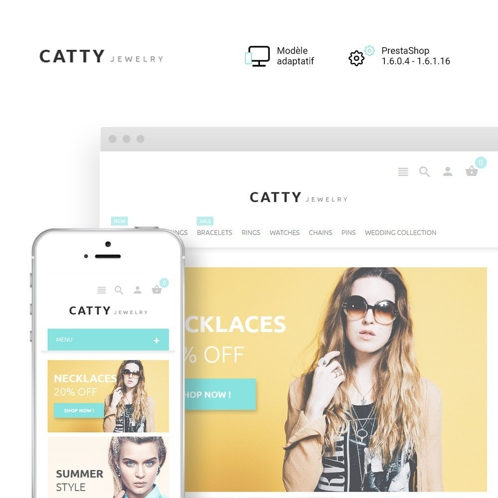 theme - Mode & Chaussures - Catty Jewelry - 1