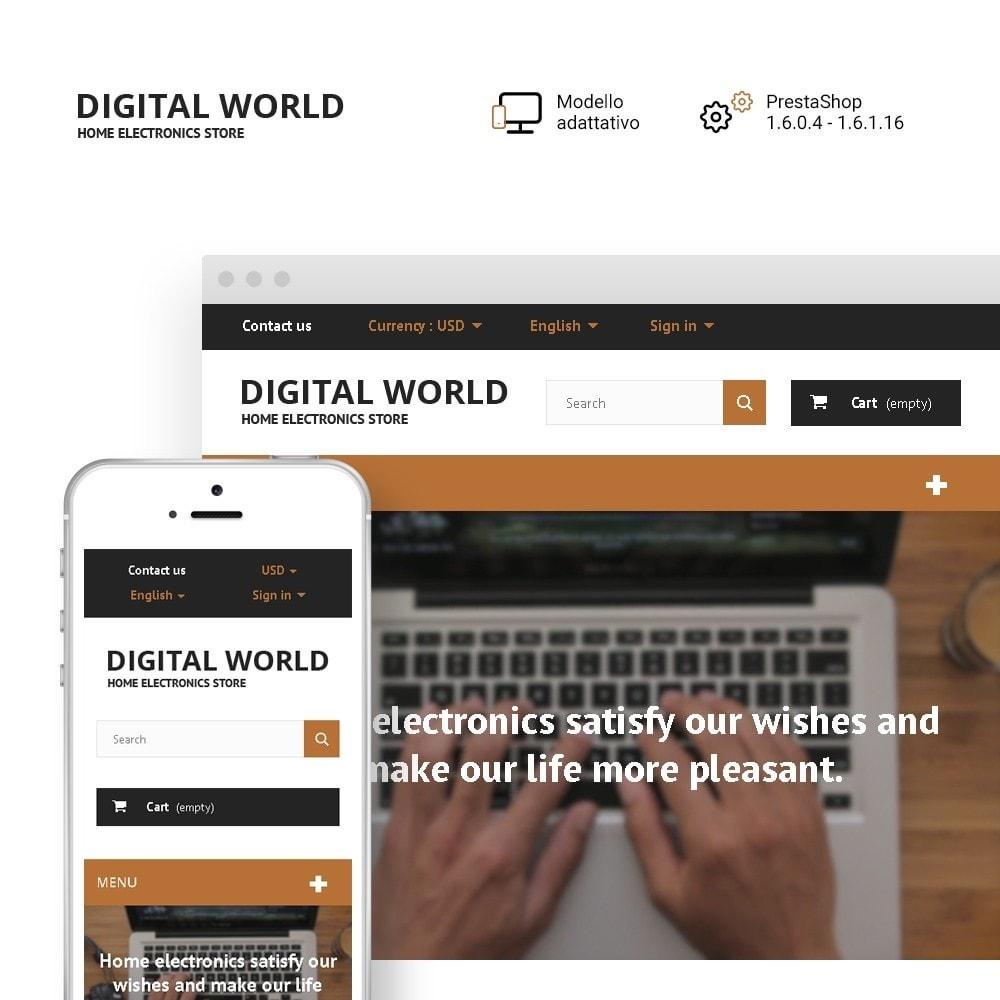 theme - Elettronica & High Tech - Digital World - 1