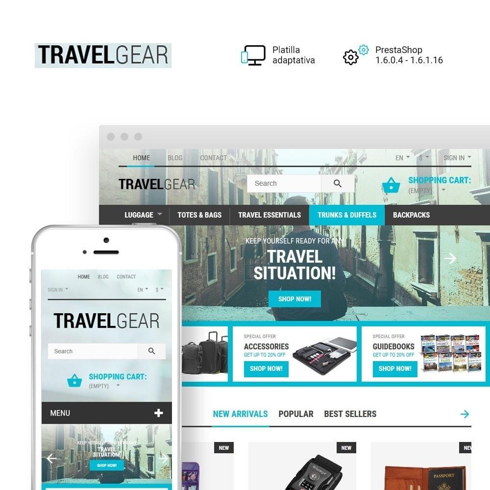 theme - Deportes, Actividades y Viajes - Travel Gear - para Sitio de Tienda de Viajes - 1