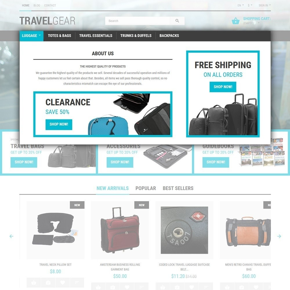 theme - Sport, Attività & Viaggi - Travel Gear - Negozio di Accessori Viaggio - 4