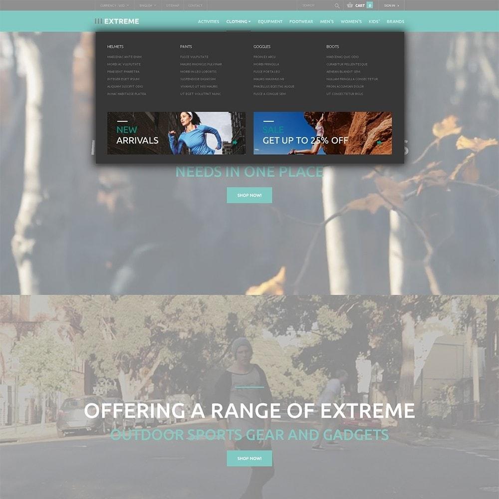 theme - Sport, Attività & Viaggi - Extreme - Responsive Negozio di Abbigliamento Sportivo - 5