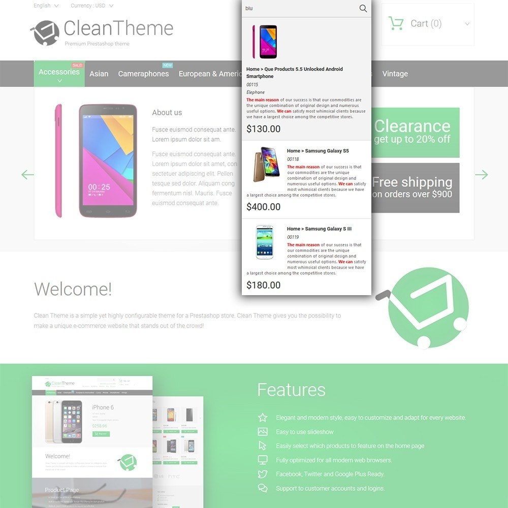 theme - Electronique & High Tech - Clean Theme - 6