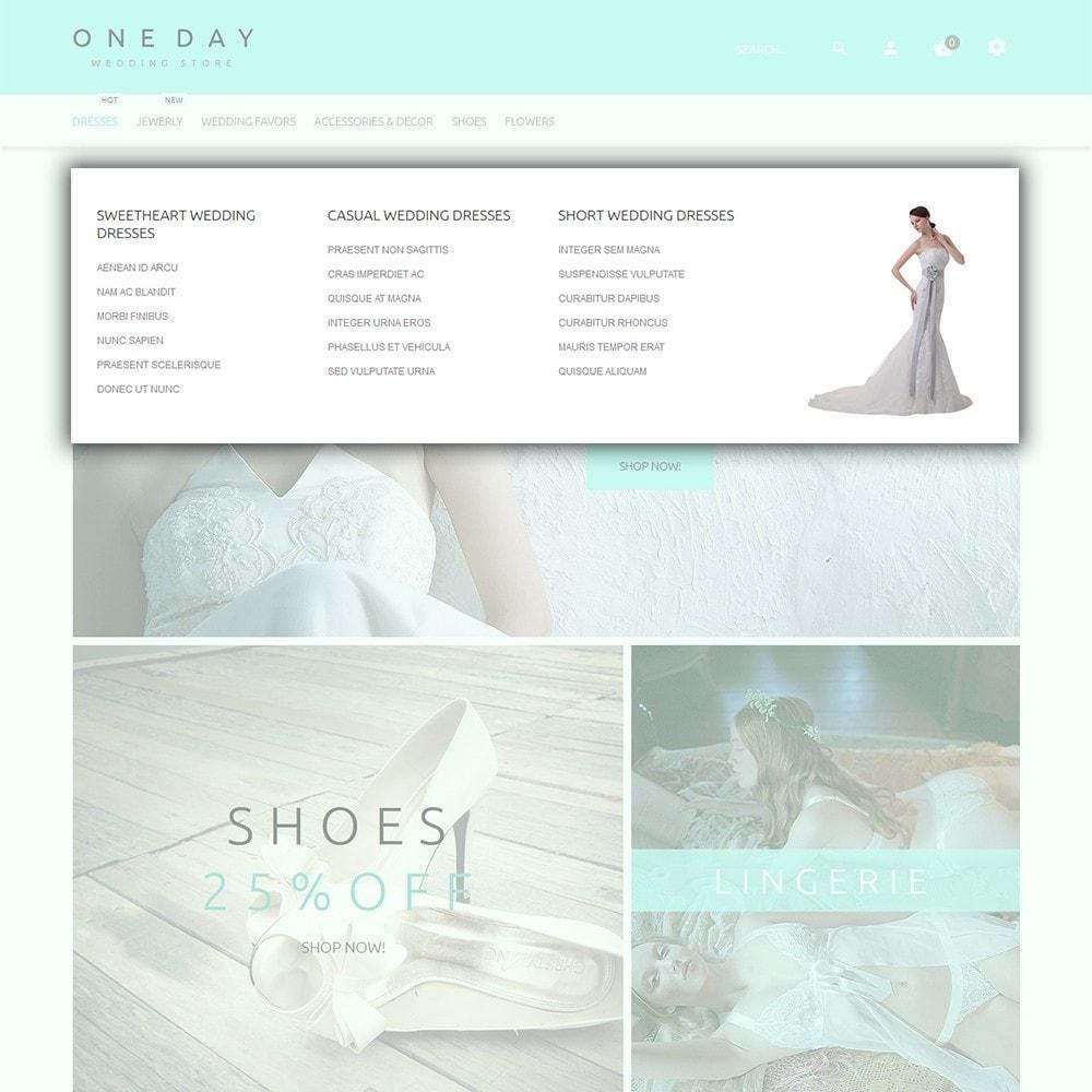 theme - Mode & Chaussures - One Day - Modèle de magasin de mariage - 5