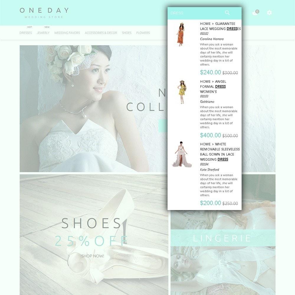 theme - Mode & Chaussures - One Day - Modèle de magasin de mariage - 6