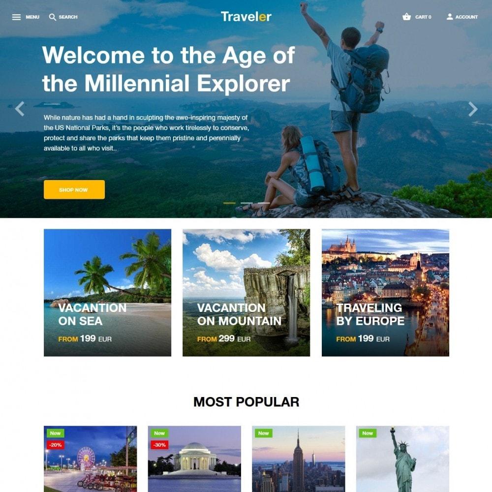 theme - Sport, Attività & Viaggi - Traveler - 2