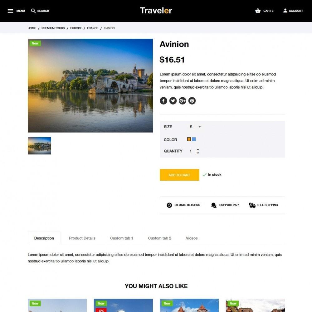theme - Sport, Attività & Viaggi - Traveler - 7