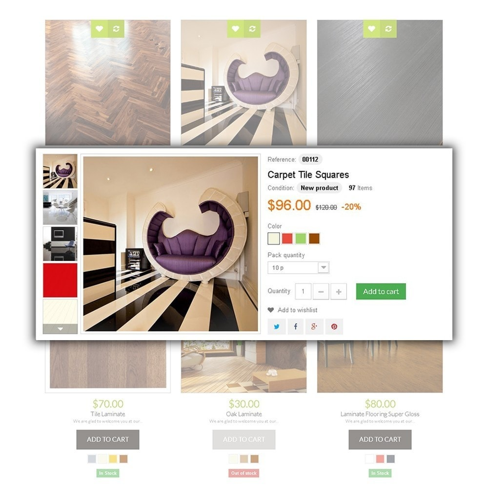 theme - Искусство и Культура - Flooring Online Store - 4