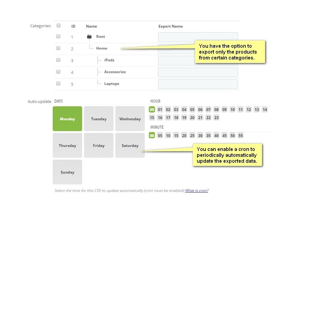 module - Data Import & Export - Moussiq - Extended Product CSV Export - 2