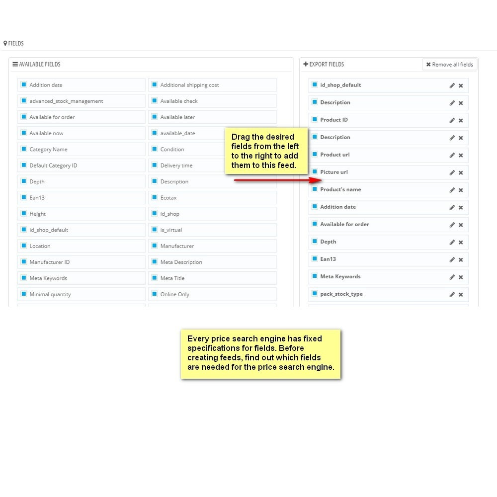 module - Data Import & Export - Moussiq - Extended Product CSV Export - 9