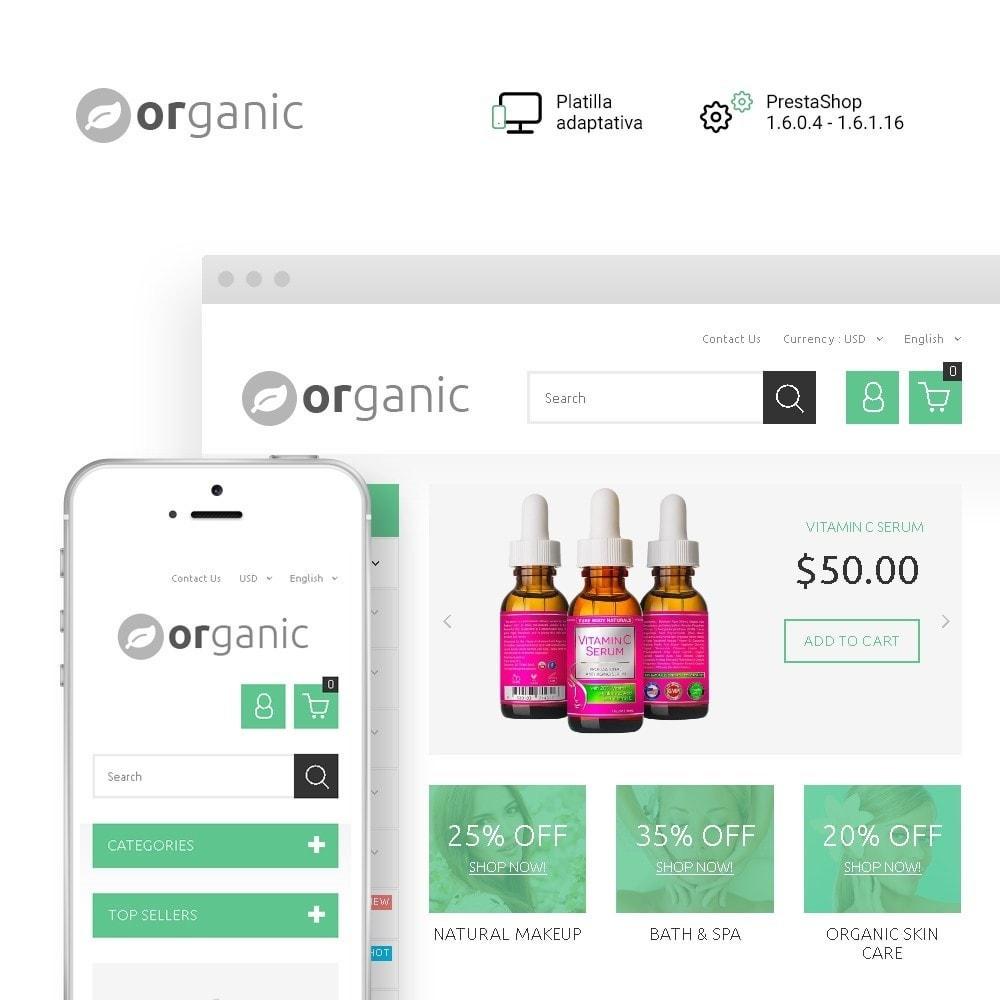 theme - Salud y Belleza - Organic - 1
