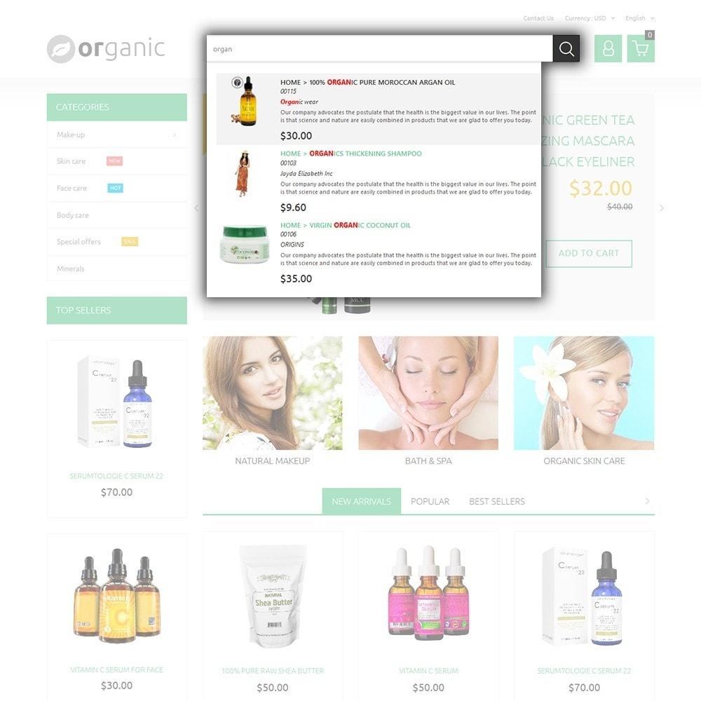 theme - Salud y Belleza - Organic - 6