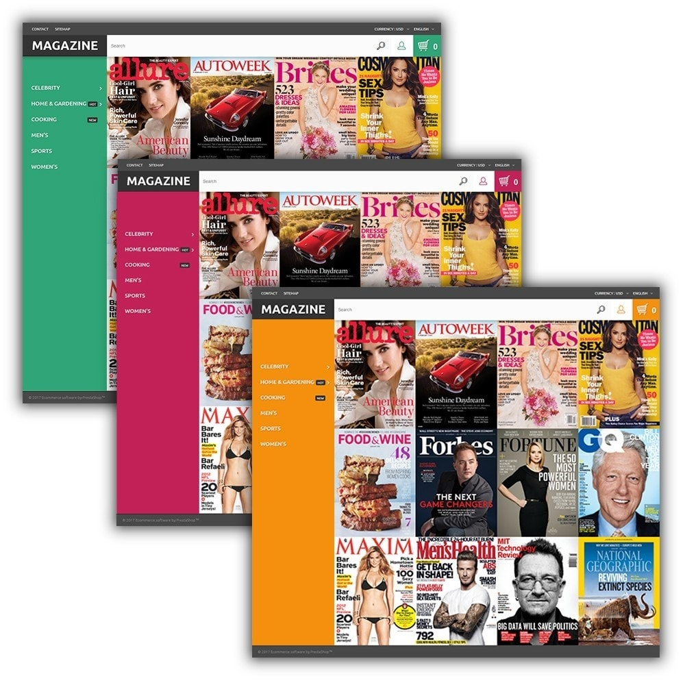 theme - Home & Garden - Magazine - Glossy Covers Theme - 2