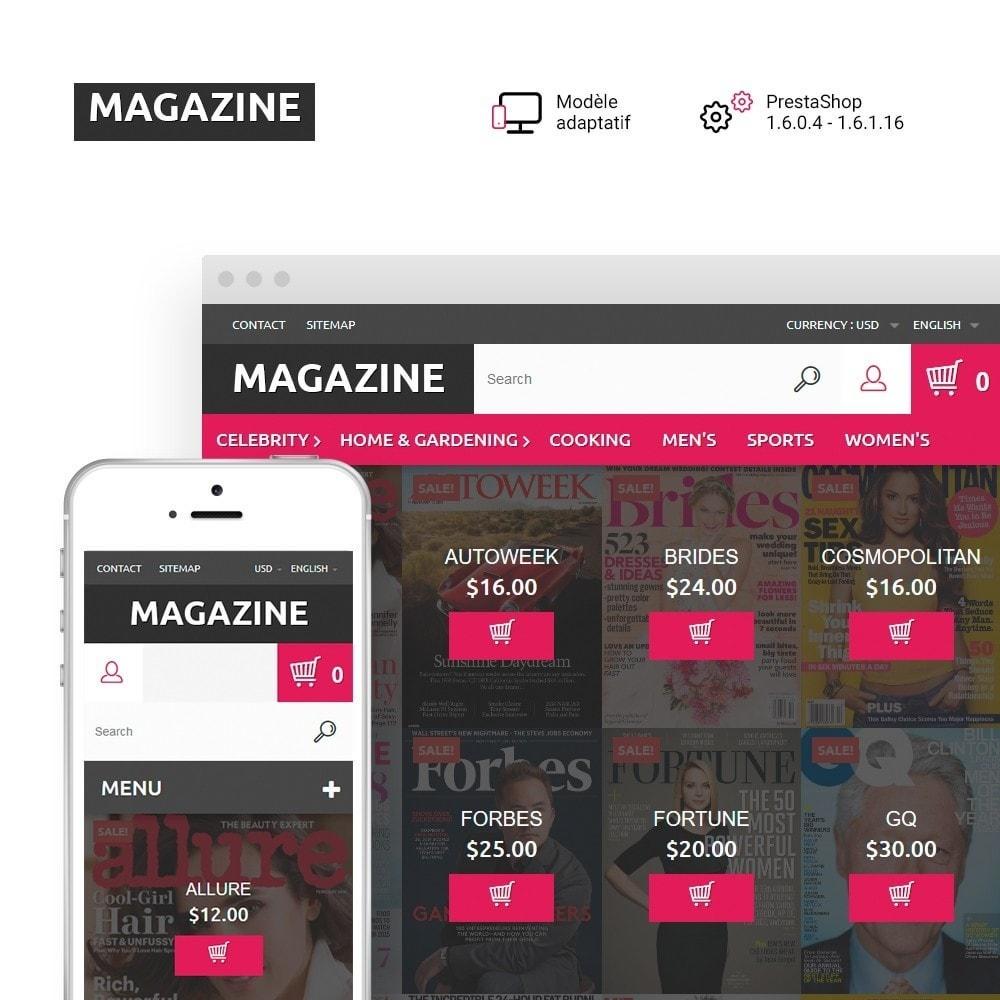 theme - Maison & Jardin - Magazine - Couvertures brillantes thème - 1