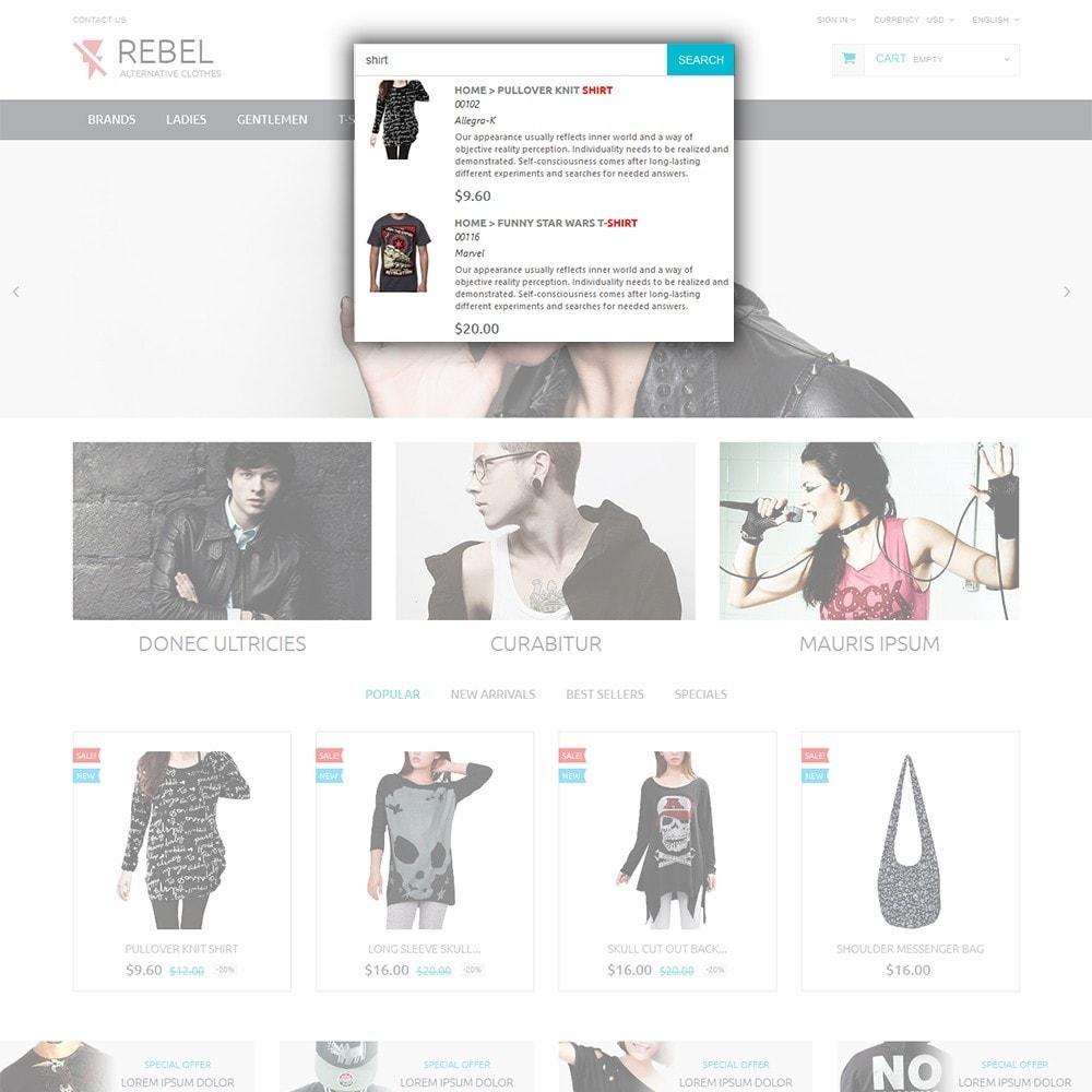 theme - Мода и обувь - Rebel - 6