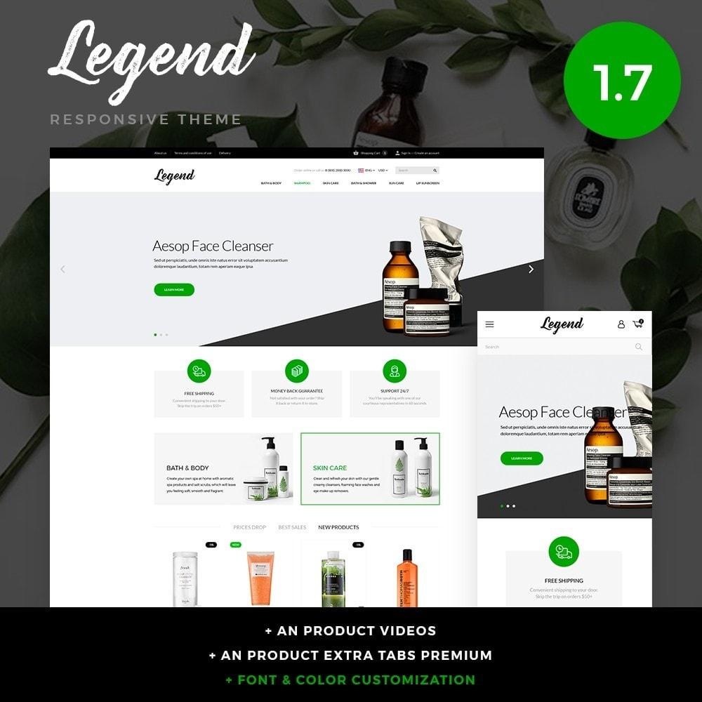 theme - Santé & Beauté - Legend Cosmetics - 1