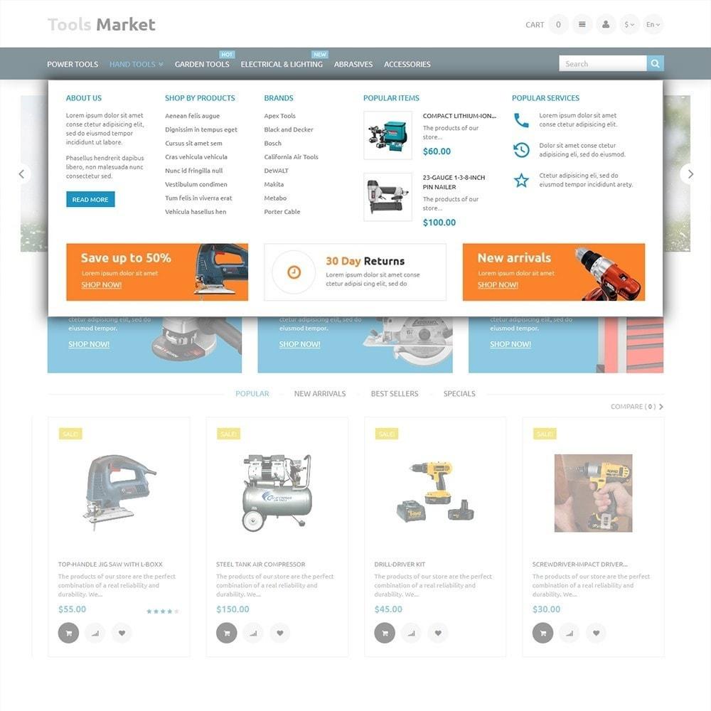 theme - Дом и сад - Tools Market - шаблон на тему ремонт - 5
