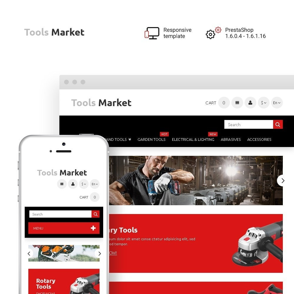 theme - Dom & Ogród - Tools Market - Home Repairs Template - 1